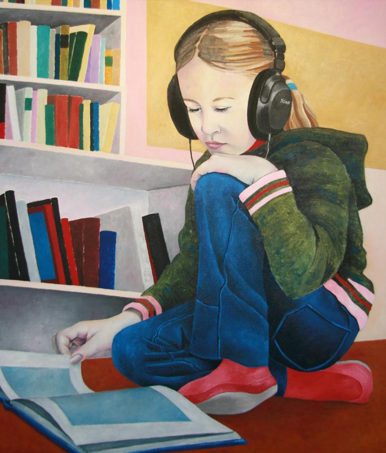 Sony Lesendes Mädchen
