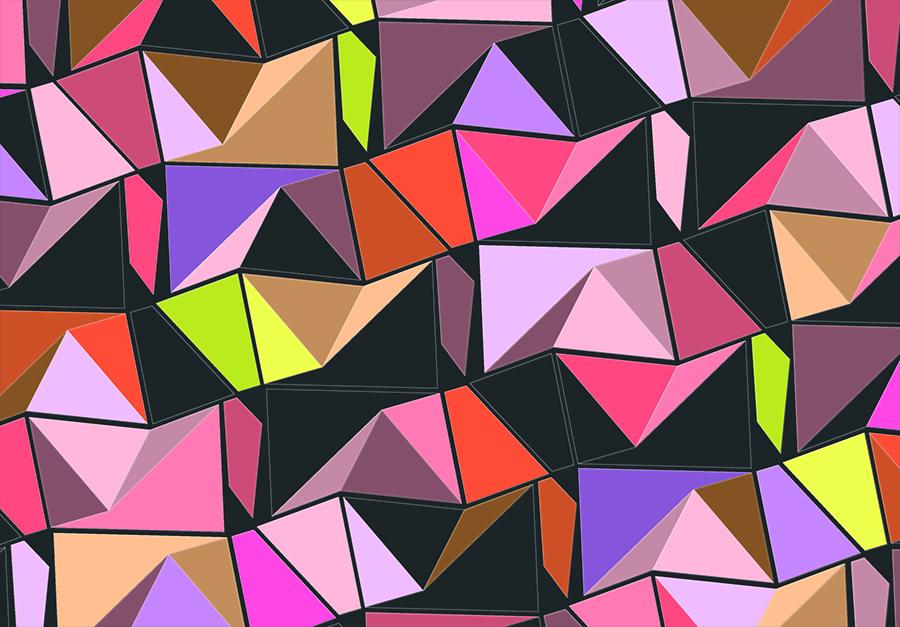 Grahic Pattern von Patrick Leyendecker